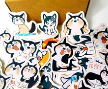 40pcs Creative Cute kawaii self-made dog expression scrapbooking /decorative stickers/DIY craft photo albums/trunk