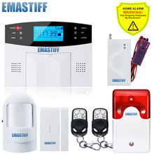 new APP Russian/French/Spanish/ English Auto Dialer Wireless Water Leakage Sensor GSM Alarm System Remote Alarm Security System