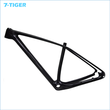 China new MTB bike 29er carbon frame  MTB carbon frame  135x9 with COMPACT