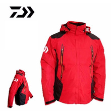 2017 New Brand Daiwa Winter Fishing Jacket Outdoor Mountaineering waterproof Anti-UV Men Jackets Fishing Sport Clothes