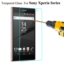 2.5D 9H Ultra Thin Tempered Glass For Sony Xperia Z Z1 Z2 Z3 Z4 Z5 Compact Mini M4 Aqua M5 Screen Protector Cover Guard Film