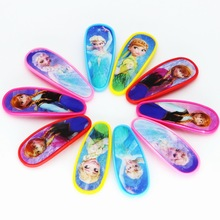 isnice 10pcs Girls Cartoon BB Clip Snap Band Hairpins Kid Barrettes Princess Droplet Headdress Hair Accessories Gift(China)