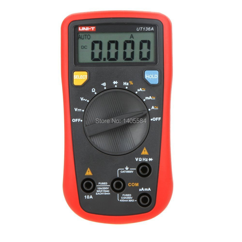 Uni-T Ut136a Auto Range Data Hold  Digital Multimeters W Frequency &amp; Duty Cycle Test<br><br>Aliexpress