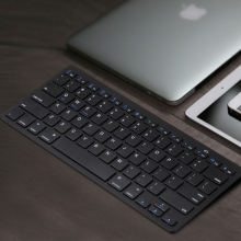 Ultra-slim Wireless Keyboard Bluetooth 3.0 Keyboard for Apple for iPad Series OS System Top Quality
