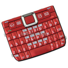 Red New Housing Home Function Main Keypads Keyboards Buttons Cover For Nokia E71, Free Shipping with tracking#(China)