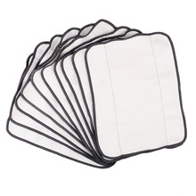 NEW 10pcs Dry Sweeping Mopping Cloths for iRobot Braava 380t 320 Mint 4200 5200 Robotic Free Shipping(China)