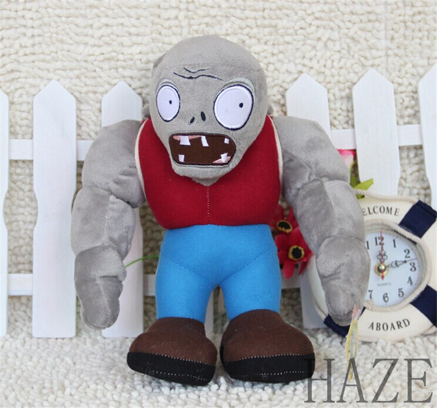 Gargantuar Zombie Plants VS Zombies Stuffed Soft Doll Plush Toys kid gift 1<br><br>Aliexpress