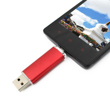 Two-site mobile phone OTG usb flash drive 4gb 8gb 16gb 32gb 64gb high speed purple usb flash memory pen drive usb stick gift