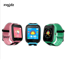 xvgjdz GPS Smart Watch 1.44'' Touch Screen Children Phone Smartwatch SOS Location Tracker Device Camera For Kid Baby Boy Girl