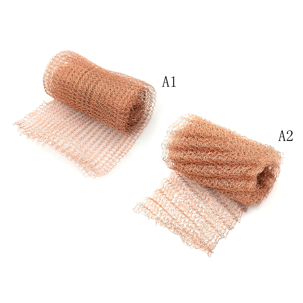 100mm Width Corrugated  Brewing Pest Control Copper Mesh For Distillation Reflux Moonshine