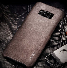 New back cover case For samsung galaxy s8 plus leather phone bags s8plus shell Luxury brand original desgin with retail package