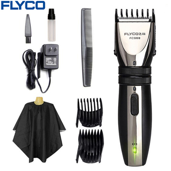 Flyco pelo profesional eléctrico clipper máquina de corte de pelo de adultos bebé de cortar el pelo recargable barba máquina de afeitar fc5808