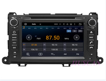 Android 7.1 Car Radio DVD Player Unit for TOYOTA Sienna 2010-2014 Car Multimedia GPS Navigation System Wifi Free Map RDS USB SWC(Hong Kong)