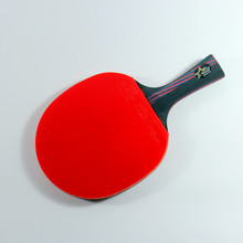 The best quality Table tennis racket Double pimples-in rubber Ping Pong Racket fast attack and loops or chop type player paddle