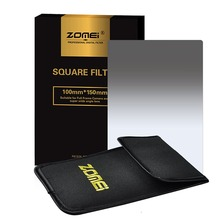 "Zomei Gradual grey ND2 ND4 ND8 ND16 Square Z-PRO Series Filter for Cokin Z zomei Hitech 4X6"" Holder 150*100 mm"