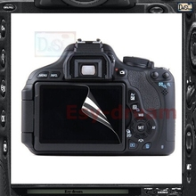 2pcs High Quality LCD Screen Film Protector For Canon 600D 60D Rebel T3i Kiss X5 PB425