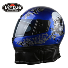 Clearance Sale full face motorcycle cool helmets skull pattern sale ABS electric bicycle safety muffler scarf cascos para moto