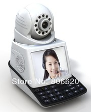 P2P H.264 Video Network Phone Camera High Performance With Wireless Alarm & 3G video calling Drop shipping available
