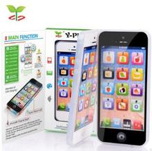 Children 's mobile phone toys Y - PHONE simulation Apple phone English children' s educational toys(China)