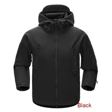 ESDY Men Outdoor Jacket Water-resistant Luker TAD Coat Shark Skin Soft Shell Hoodie Hunting Duty Camping Hiking Clothing(China)
