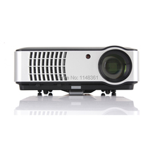 New Sell like Hot Cakes 5600 lumens Full HD 1080P TV Smart Projector Game Teaching Home Theater Projector Free Shipping