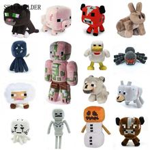 SELLWORLDER Minecraft Game Animal Plush Stuffed Dolls Toys(China)