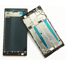 Brand New Front Housing For Lenovo P70 Front Housing Middle Frame Bezel LCD Case Black/White