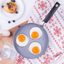 Life83 22 CM Creative Frying Pan Breakfast Frying Eggs Pastry Pancake Maker Non-Stick No Oil-smoke Pans Gas Cooker