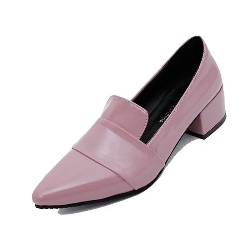 The spring and autumn British style leather p u retro shoes soled shoes with a female college students big shoes<br><br>Aliexpress