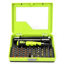53 in 1 Multi-Bit Precision Torx Screwdriver Set Bits Tweezer Mobile Phone Repair Tools for Cell Phone PC Hand Tools