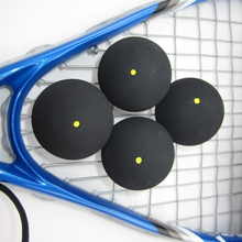 10pcs FANGCAN One Yellow Dot Training Squash Ball Suit for Different Playground Tournament Training Ball Middle Speed