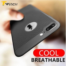 Twitch Heat Dissipation Phone Cases For iPhone 6 6s Plus Case Hard PC Full Protect Back Cover for iPhone 7 7Plus Plastic Cover(China)