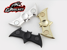 Buy Top! Batman Finger Fidget Spinner Fast Bearing Black hand spinner Batman finger Tri-Spinner EDC Relieve stress ADHD Fidget toy for $1.26 in AliExpress store