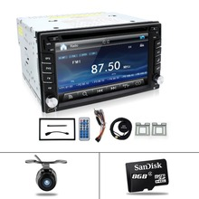 cassette player for universal cars GPS navigation/Radio tuner/MP3/USB/SD/Bluetooth/Steering Wheel Control/Remote Control Map Cam(China)