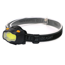 Mini Waterproof COB LED Headlamp 800Lm 3 Modes Red Warning Safety Headlight Camping Flashlight Frontal Head Light Torch Lamp AAA
