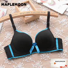 Cute girls bra gather together to adjust the type of underwear thin paragraph close breast sexy bras young girl 3/4 medium cup