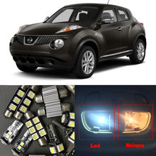 Buy 8pcs White Canbus LED Light Bulbs Interior Package Kit 2011-2015 Nissan Juke 12V Interior Map Trunk License Plate Lamp for $8.91 in AliExpress store