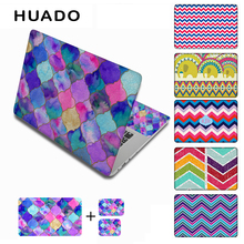"Colorful vinil laptop stickers 17"" 15"" 13"" 15.6 laptop decal sticker 12"" notebook skin hp/lenovo/xiaomi mi 13.3/mac air"