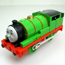 K-019 Children gift Electric THOMAS and friend The Tank Engine Motorized train plastic kids toy gift PERCY(China)