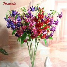 Fuchsia Hybrida  artificial flowers  Lantern Flowers rare cheap chinese flowers For DIY home Garden Home