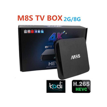 Newest  TV Box Amlogic  CorTex A5 DDR3  Codi  Set Top Box Prices In Australia tv box iptv m8s android quad core