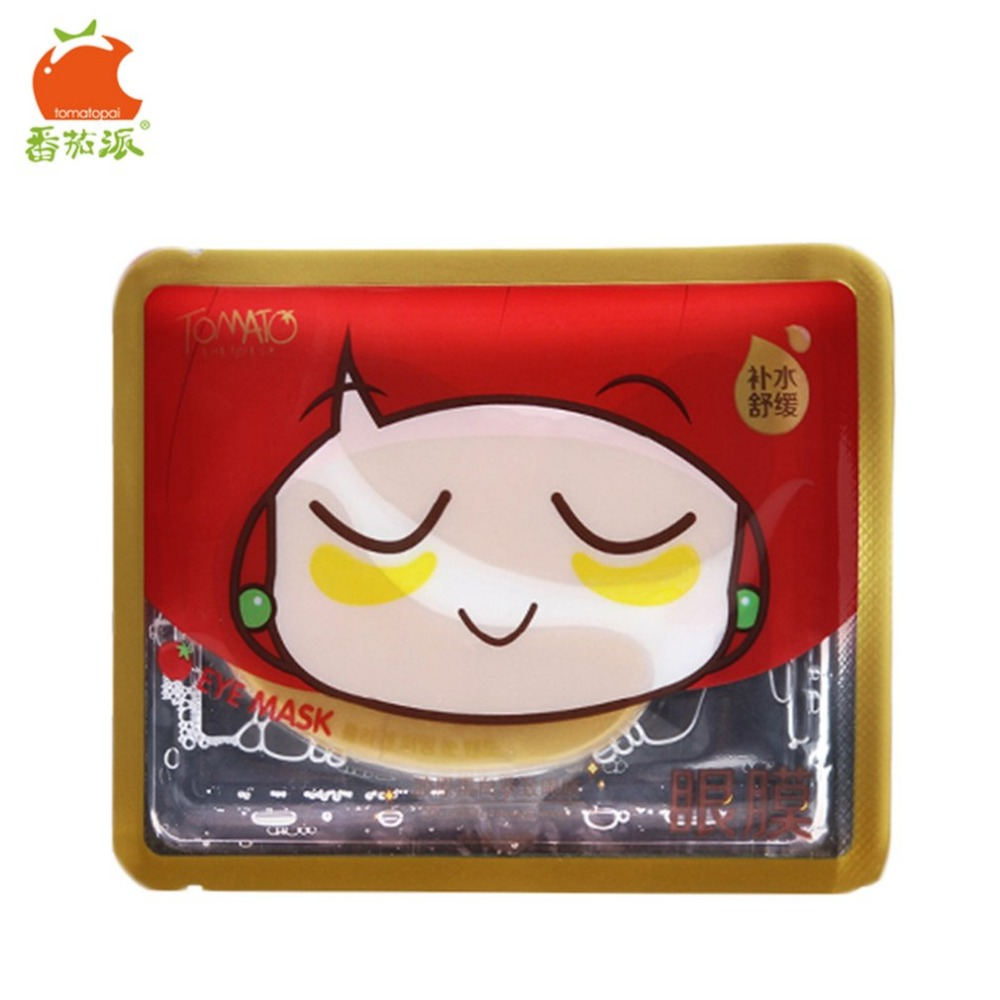 TOMATO PIE 140G Smooth Collagen Firming Moisturizing Eye Mask Gold Osmanthus Remove Dark Circles Skin Care Eye Masks Treatment 9