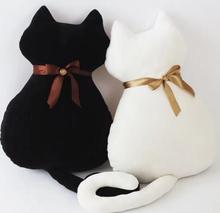 50cm Happy Song Xiao Xiao 2 Qu Xiaoxi with the same paragraph black cat pillow doll  back baby cat doll for birthday gi