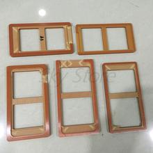 LCD Screen LOCA uv outer touch glass adhesive mould Mold For LG g2 g3 g4 f180 for Google Nexus 4 5 6 plus Phone parts