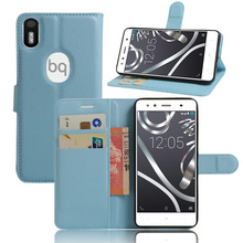 Buy Cell Phone Cases Fundas BQ Aquaris X5 Plus Flip Leather Case Capa Celular Magnetic Cover Stand Wallet Card Holder Coque for $3.39 in AliExpress store