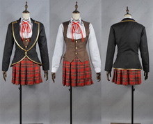 RWBY Ruby Rose Weiss Schnee Blake Belladonna Yang Xiao Long school uniform Cosplay Costume Tailor  Made