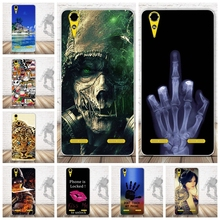 Soft TPU Phone Case for Lenovo A6000 for Lenovo A6010 Plus & for Lenovo Lemon K3 K30-T Cover Skin 5 inch K 3 Cartoon Case
