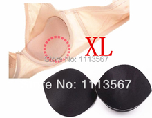 20set Black Sewing In Bra Cups Soft Foam Size XL Clothing Set Sewing Suppliers Bra Accessories WB8(China)