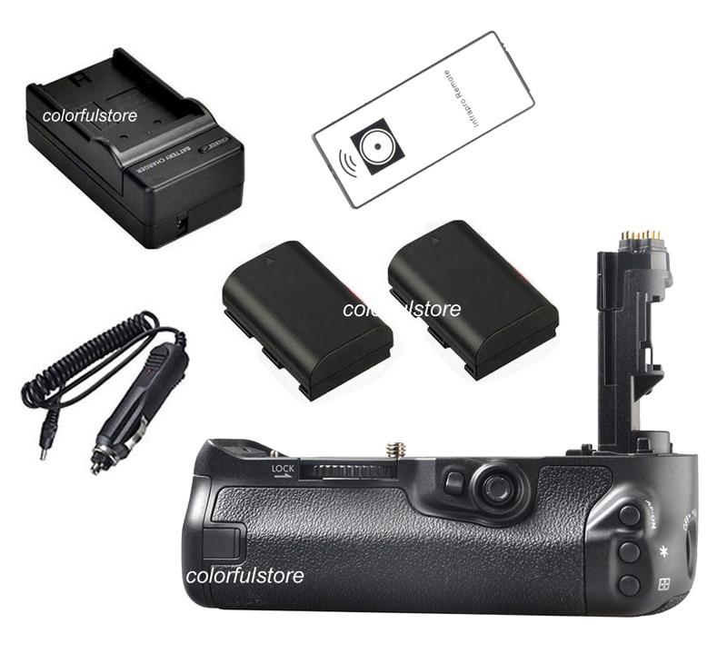 Battery Hand Handle Grip Holder Vertical Shutter For Canon EOS 7D Mark II 7DII 7D2 Camera as BG-E16 BGE16 +2 LP-E6 + Car Charger<br><br>Aliexpress