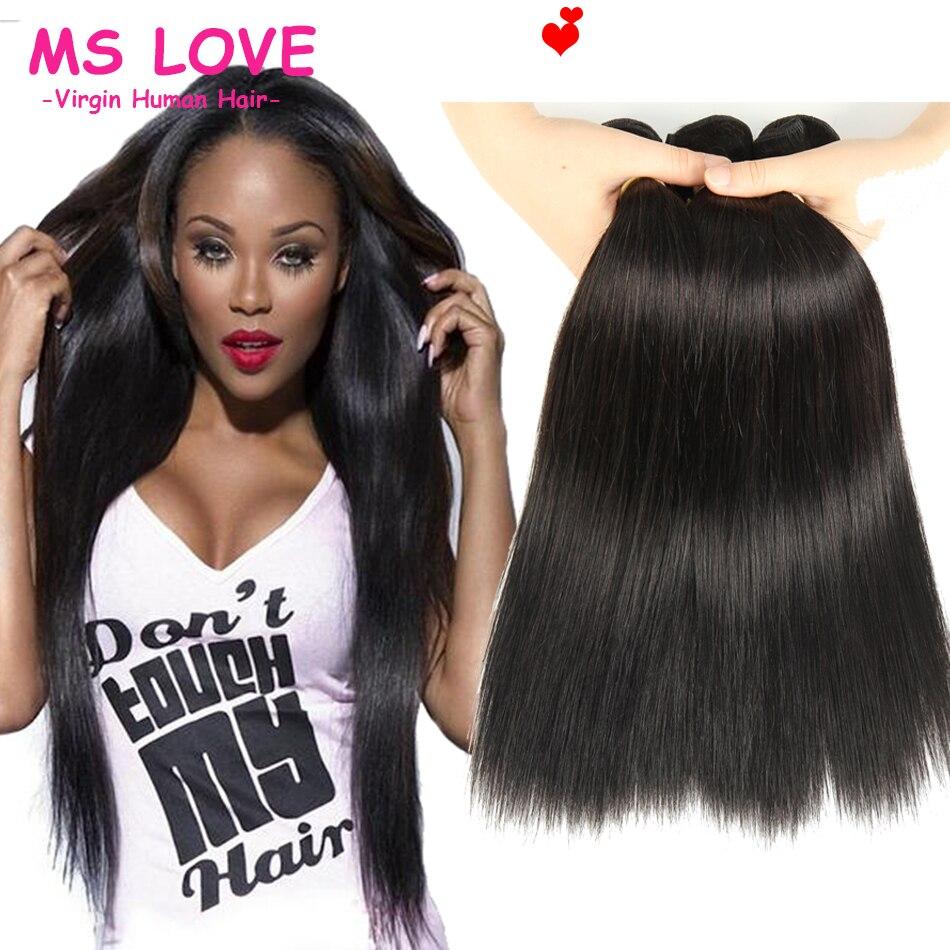 Peruvian Virgin Hair Straight 3 Bundles Peruvian Straight Virgin Hair Weave Cheap Peruvian Straight Hair Bundle Deals Ms love<br><br>Aliexpress